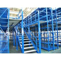 Cheap Long Span Pallet Rack Mezzanine Catwalk Systems With Adjustable Steel Decking for sale