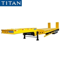 Buy cheap 100 Ton Low Bed Truck Trailer for Sale in Senegal Dakar from wholesalers