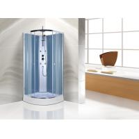 Cheap Free Standing Quadrant Shower Cubicles With Transparent Tempered Glass Fixed Panel for sale