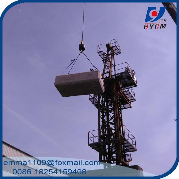 Jib Crane In Uae : D jib luffing tower crane m length t tip load