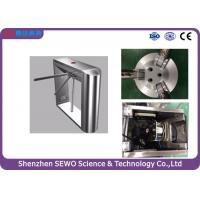 Quick passing fully automatic systems tripod turnstiles