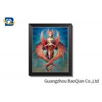 Cheap SGS Lenticular 5D Pictures For Restaurant Decoration Environmentally Friendly for sale