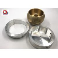Cheap Precision Metal Parts Machined Brass Parts / Mechanical Components Bases for sale