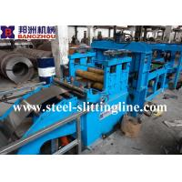 China Automatic Steel Cut To Length Line , 0-50m/min Line Speed 5T Weight on sale