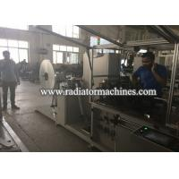 Cheap Fully Automatic Radiator Making Machine For Making Copper And Aluminum Foil Fin for sale