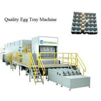 Cheap Large Capacity Double Rotary Egg Tray Machine Full Automatic Factory Price for sale