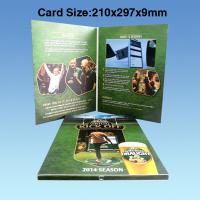 Cheap Wedding Custom Video Greeting Cards , 7 Inch 16.7M Promotional Video Card for sale