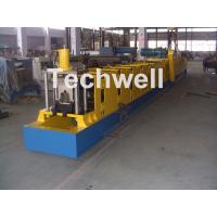 Cheap Wall Plate Structure Cold Roll Forming Machine With 0-15m/Min Forming Speed For Making Top Hat Channel for sale