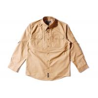 Buy cheap Brown Tactical Combat Shirt / Air Force Abu Combat Shirt Military Style Rub from wholesalers
