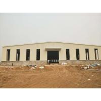 China Q345 Steel structure building pre enginnered  warehouse and workshop on sale