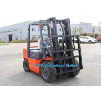 China 3T Diesel Operated Forklift With 3 Stage Full Free 6000cm Mast And Fork Posioner on sale