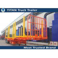 Cheap Forest drop deck logging trailer for 6 meters - 22 meters timber lengths for sale