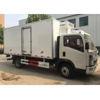 China Low Temperature Refrigerator Truck / LHD 4X2 Refrigerated Food Truck on sale