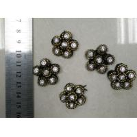 Cheap Metal Pearl Small Flowers Trims Bead Collar for Clothes Decoration for sale