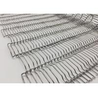Cheap SS316 Woven Flat Drive Belt Decorative Wire Mesh For Fireproof Curtain Mesh for sale
