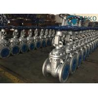 Cheap Flexible Wedge Industrial Gate Valve API600 Handwheel Operation WCB Material for sale