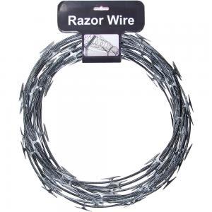 Cheap Concertina Razor Barbed Wire Price/Hot Dipped Galvanized Razor Wire for sale