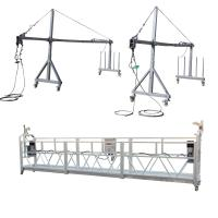 Cheap Aluminum ZLP800 Suspended  Platform 7.5m  380V / 50HZ / 3P 100m Height for sale