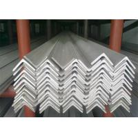 Buy cheap Hot Rolled Stainless Steel Angle Bar, No.1 Finish Stainless Steel Angle Stock from wholesalers