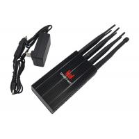 Cheap Long Distance Powerful LTE Mobile Phone Signal Jammer 20m Jamming Range wholesale