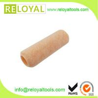 China 7 polyester paint roller cover 3/8nap 1-1/2diameter synthetic core shed resistant on sale