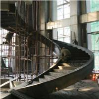 Cheap Large Pre Engineering Steel Spiral Staircase Solid I Beam Shock Resistance wholesale