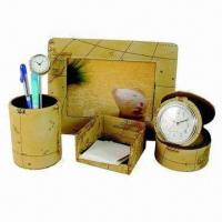 Cheap Stationery Gift Set, Made of PU Leather for sale