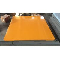 Cheap Hot Galvanized Carbon Steel Floor Weighing Scales 1.5x1.5m 3t / 5t Single Deck for sale
