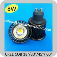 Cheap 8w CREE Chip cool white gu10 led cob for kitchen for sale