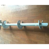 Cheap Hot Dip Galvanized Helical Pile Foundations Ground Screw Pole Anchor for sale