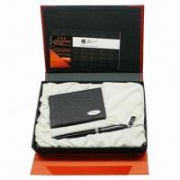 Cheap Promotional Business Gift Set with Metal Pen for sale