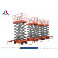 Cheap China Professional 12m Mobile Scissor Lift Table for Warehouse for sale