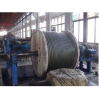 Cheap Spring Galvanised Steel Wire Rope , Slope Hoisting 6 x 36 for sale