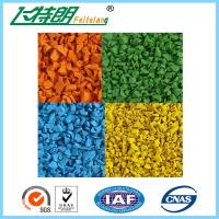 Cheap Polyurethane Binder Rubber Granules/Epdm Granules/Epdm Flooring Surface Tile SBR Rubber Mat for sale