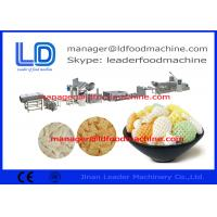 Cheap Breakfast Cereals 3D Snack Pellet Machinery With 38CrMoAL Screw for sale