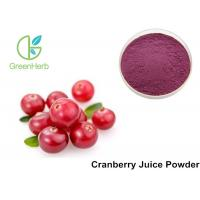 Cheap Pure Cranberry  Fruit Juice Powder High Proantho Cyanidins For Function Foods for sale