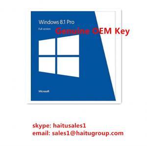 Cheap Original Windows 8 Product Activation Key , Windows 8.1 Professional OEM Single Key for sale