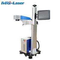 Cheap Long Time Working Flying Laser Marking Machine 14000mm/S Engraving Speed for sale