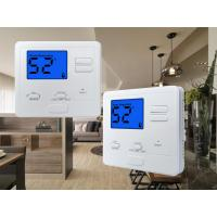 Cheap 24V White Color  Digital Room thermostat Temperature Control for Heating Parts for sale