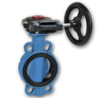 "Buy cheap Worm gear operated 4"" ANSI groove butterfly valve from wholesalers"