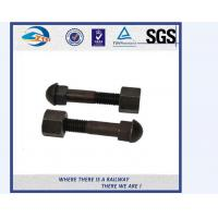 Cheap Grade 10.9 Track Bolts And Nuts / Inserted Bolt With Dacromet / Sherardizing for sale