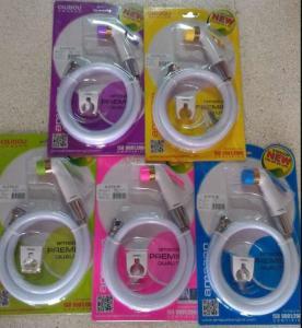Cheap Asian Thai Bidet Toilet Spray Sprayer Shower Rinse Hygiene Bum Gun Complete Kit JK-3040 india PVC health faucet for sale