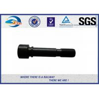 Cheap Zhongyue SGS Inspected Railway Rail Fishtail Bolt For Joint Bar for sale