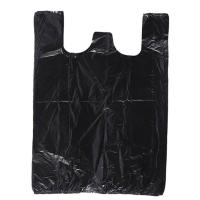 Cheap Black Color 60 Gallon Biohazard Garbage Bags Replacement Side Gusset Bag Biodegradable for sale