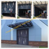 China Sectional Lift Door Vertical Panel Lifting Industrial Sectional Door For Garage Use on sale