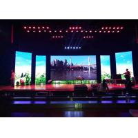 Cheap Seamless Images Stage Rental LED Display 4.81mm Pixel Pitch 16 Bits Gray Scale for sale