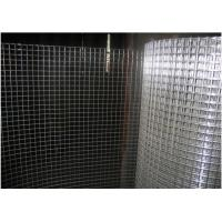 Construction Welded Wire Mesh Hot Dipped Galvanized Or Electro Galvanized