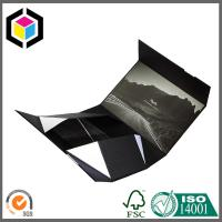 Cheap Bespoke Matte Black Color Print Collapsible Gift Box; Gift Packaging Box for sale