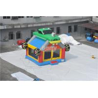 Cheap Commercial Giant Bouncy Castle Funny Construction Car / Truck Inflatable Bounce House for sale