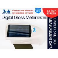 Cheap Paint Paper Digital Gloss Meter NHG268 20° 60° 85° Degree Touch Screen Operation for sale